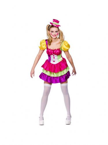 Cute Clown - Sexy Fancy Dress (Wicked SF-0131)